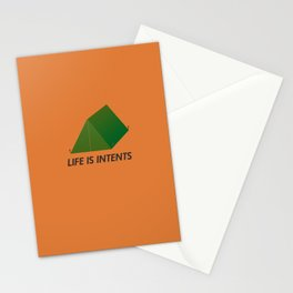 Life is Intents Stationery Cards