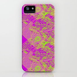Superpose Map One iPhone Case