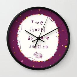 More Dancing Wall Clock