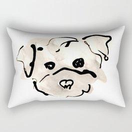 Bichon Frise Rectangular Pillow