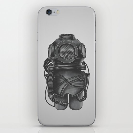 The Dead Diver iPhone & iPod Skin