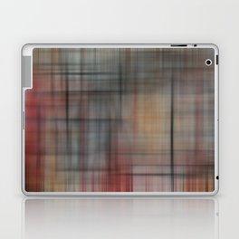 Abstract Multicolored Tartan Laptop & iPad Skin