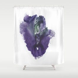 Allie's Vulva Print No.3 Shower Curtain