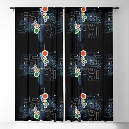 Circuitry Blackout Curtain