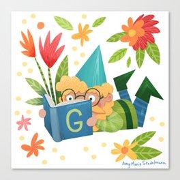 Book Gnome Canvas Print