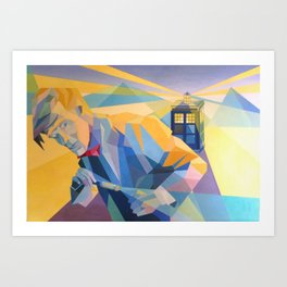 Doctor Who (Eleven) Art Print