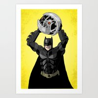 bombs away Art Prints featuring Bombs Away by RAD Pencils