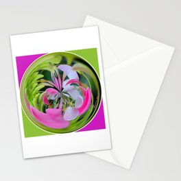 Cleome Glass Ball Stationery Cards