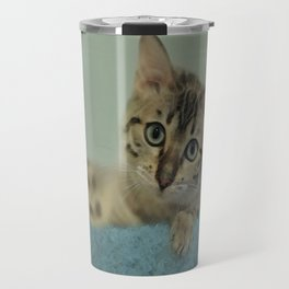 Cute Things Come in Kitty Packages Travel Mug
