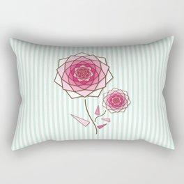 Crystal Flower 2 Rectangular Pillow
