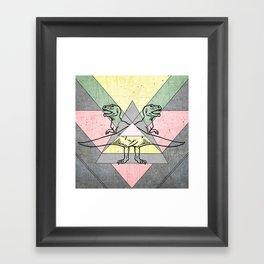 siamo tyrex Framed Art Print