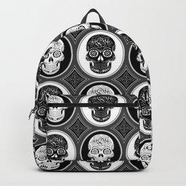 Skulls Calaveras Day of the Dead Dia de los Muertos Backpack