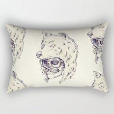 WOLF HAT Rectangular Pillow