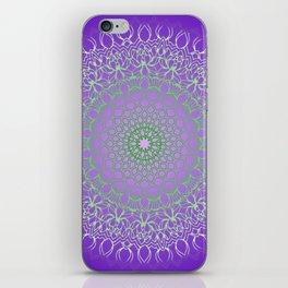 mandala dhalia iPhone Skin