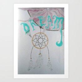 The Dream Catcher Art Print