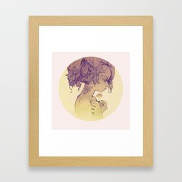 Its always about you Framed Art Print