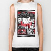 gta Biker Tanks featuring Mashup GTA Mad Max Fury Road by Akyanyme
