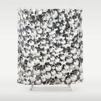 mirror Shower Curtains featuring Mirror by Judith Abbott