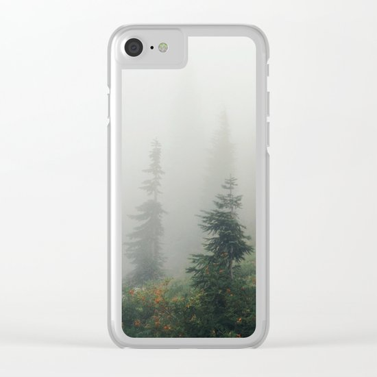 Mt Hood National Forest Clear iPhone Case