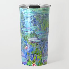 Water Lilies monet : Nympheas Travel Mug