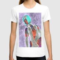 sci fi T-shirts featuring Sci Fi Girl  by Brian Raggatt