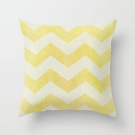 Sun-Kissed Chevron Throw Pillow
