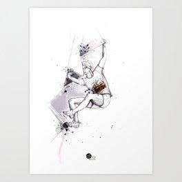 Bas Cu' Girl Art Print