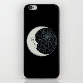 Cobwebs and moonlight iPhone Skin