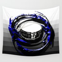 drum Wall Tapestries featuring Music - Drum by yahtz designs