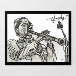 WOODY Canvas Print