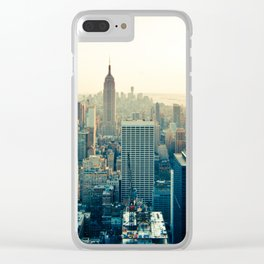 Good Evening New York City Clear iPhone Case