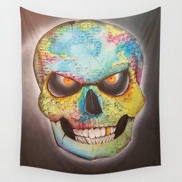 Mr. skull himself Wall Tapestry