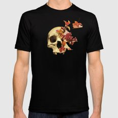 Wither Mens Fitted Tee LARGE Black