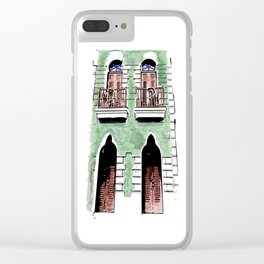Old San Juan Clear iPhone Case
