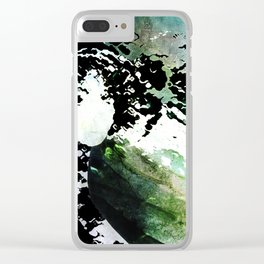 LADY-SILEX-8 Clear iPhone Case
