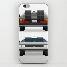 DMC: The Time Machine iPhone Skin