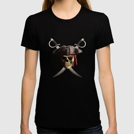 Pirate Skull And Swords T-shirt
