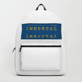 immortal. Backpack