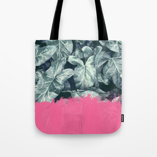 Pink Sorbet on Jungle Tote Bag