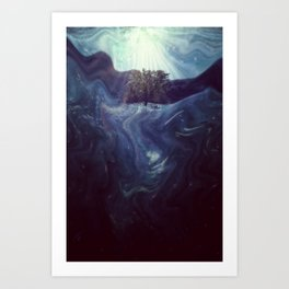 Waking to Wisdom Art Print