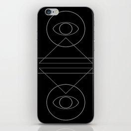polarity iPhone Skin