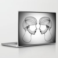 queer Laptop & iPad Skins featuring Queer boys  by Raúl Rodríguez