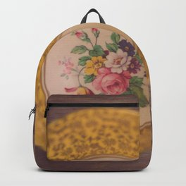 Gold Teacup Backpack