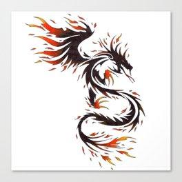 Spirit of Fire Dragon Canvas Print