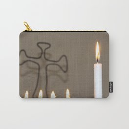 La Cruz and the Flame Carry-All Pouch