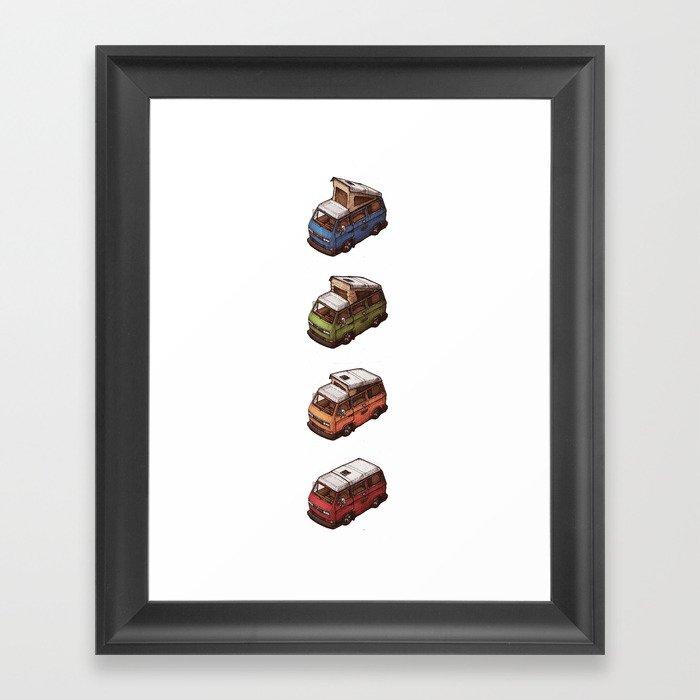 Transformieren Framed Art Print