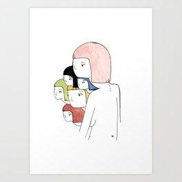 super sketch Art Print