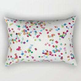 Confetti by Robayre Rectangular Pillow