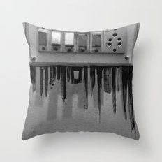 Switch On skyscrapers Throw Pillow