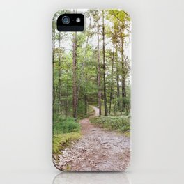 Going Places - Nature Photography iPhone Case